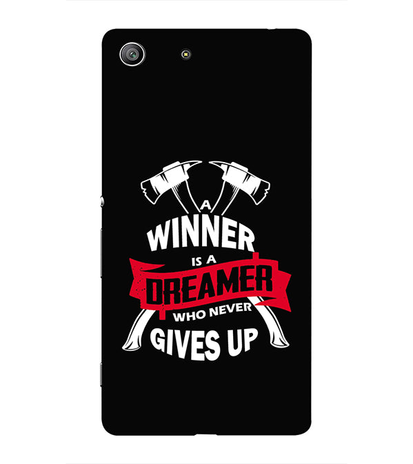 Winner is Dreamer Back Cover for Sony Xperia Z3 Compact