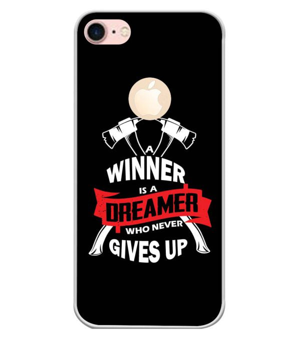 Winner is Dreamer Back Cover for Apple iPhone 7 (Logo)-Image3