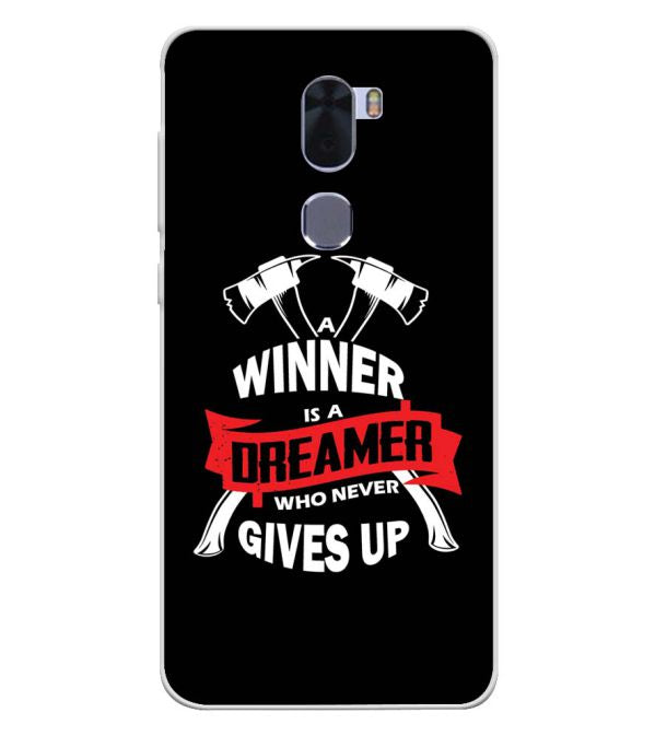Winner is Dreamer Soft Silicone Back Cover for Coolpad Cool 1
