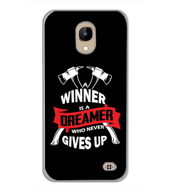 Winner is Dreamer Back Cover for InFocus A2