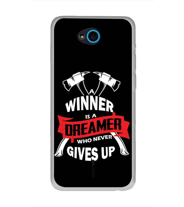 Winner is Dreamer Back Cover for InFocus Bingo 21