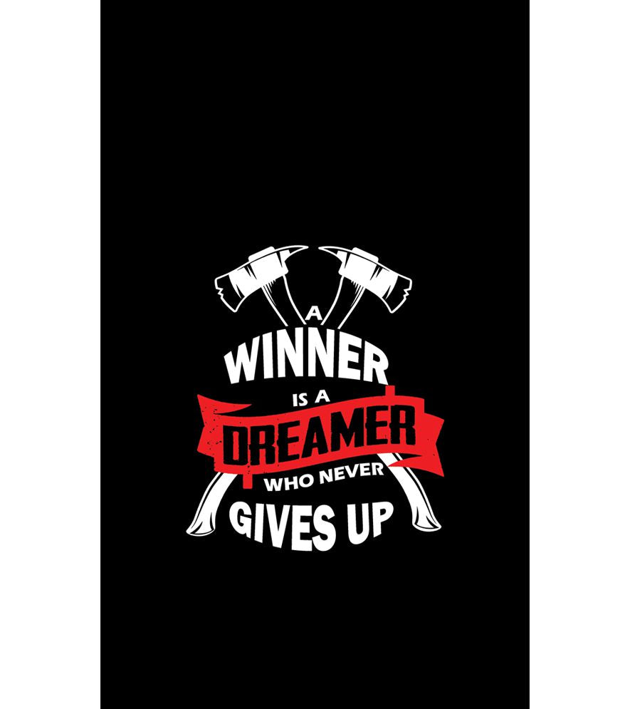 Winner is Dreamer Back Cover for Intex Intx Trend Lite