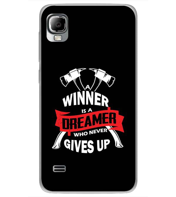 Winner is Dreamer Back Cover for LYF Flame 3