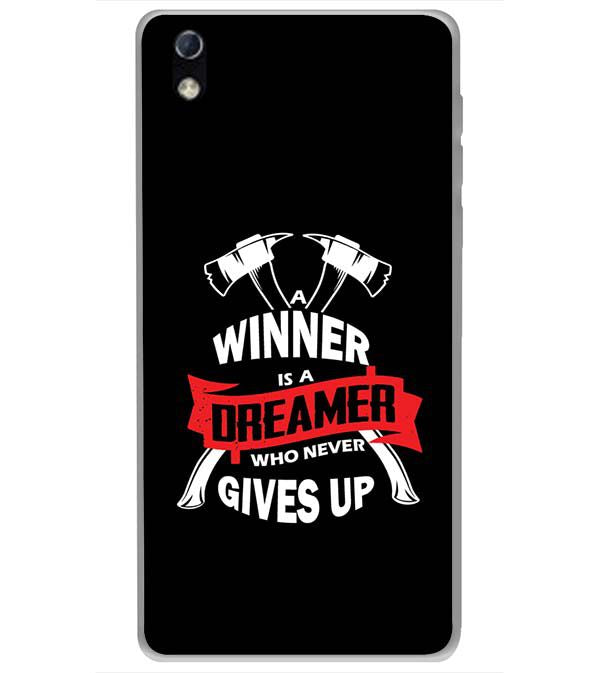 Winner is Dreamer Back Cover for LYF Water 1