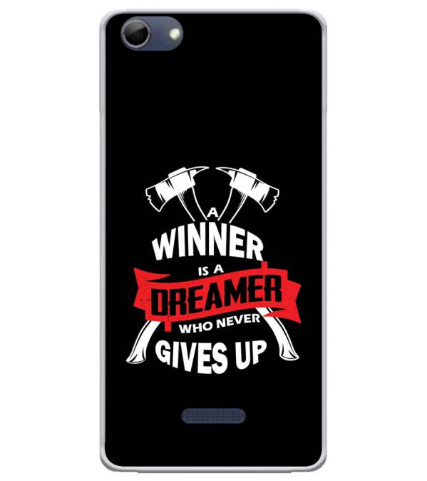 Winner is Dreamer Soft Silicone Back Cover for Micromax Selfie 3 Q348