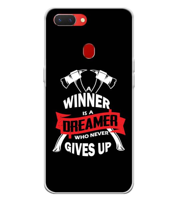 Winner is Dreamer Back Cover for Oppo Realme 2-Image3