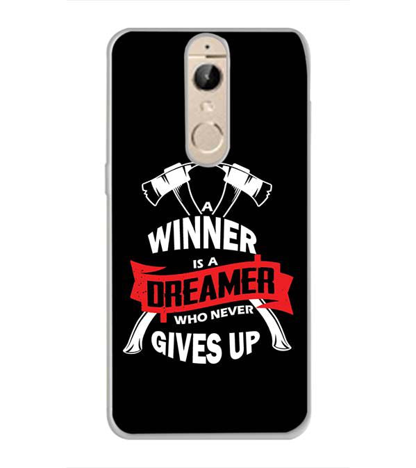 Winner is Dreamer Back Cover for Panasonic Elugaa I9