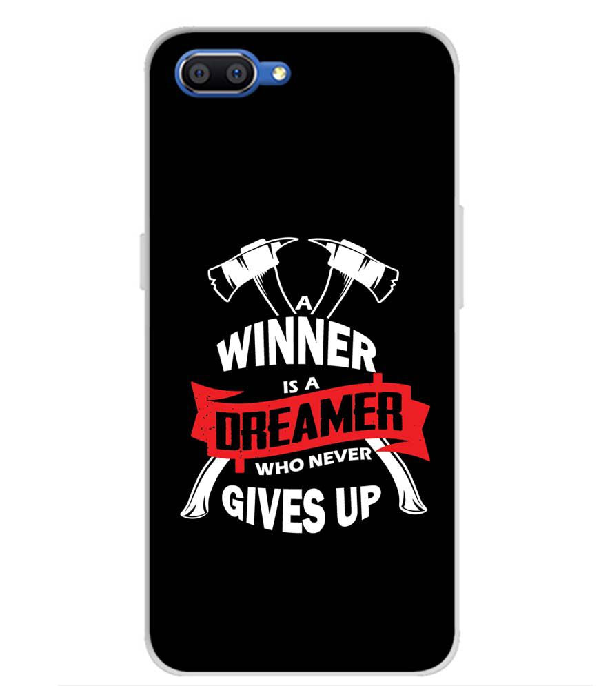 Winner is Dreamer Back Cover for Realme C1 (2019)