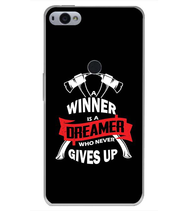Winner is Dreamer Back Cover for Smartron SRT Phone