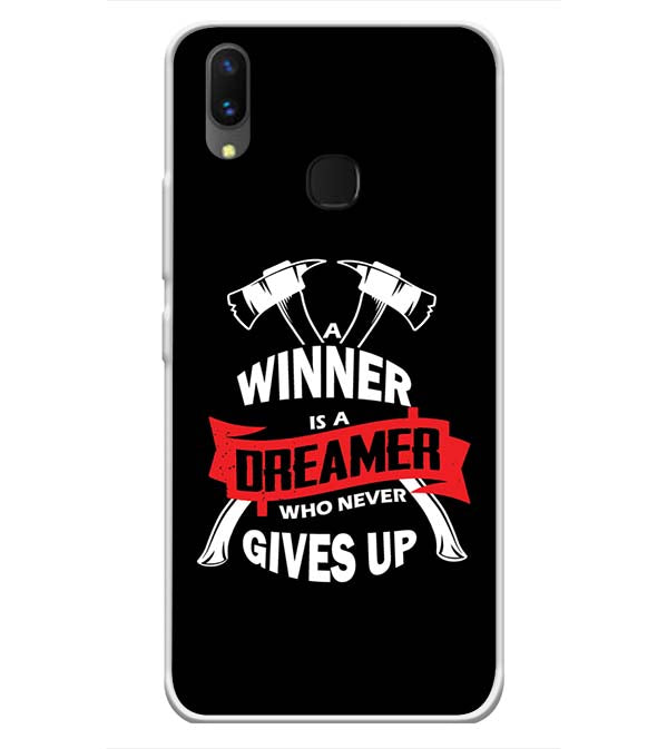 Winner is Dreamer Soft Silicone Back Cover for Vivo X21