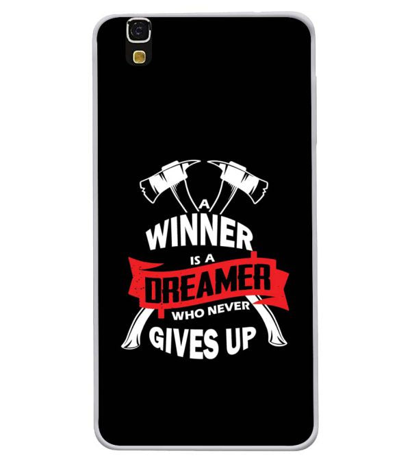 Winner is Dreamer Soft Silicone Back Cover for Yu Yureka 5510