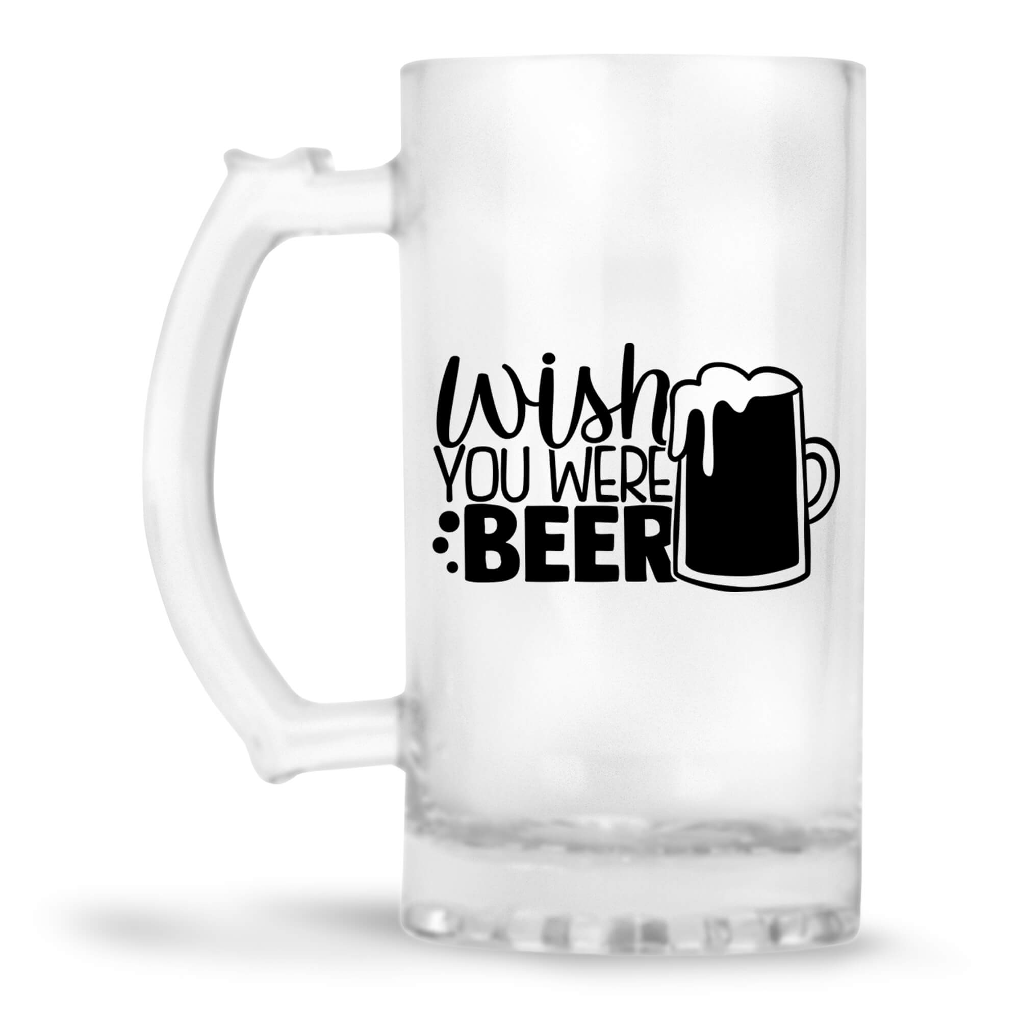 Wish You Were Beer Beer Mug