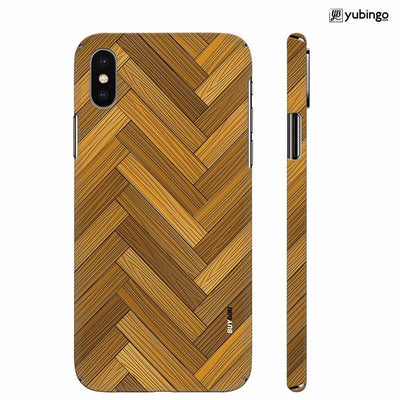 Wood Pattern Back Cover for Apple iPhone X