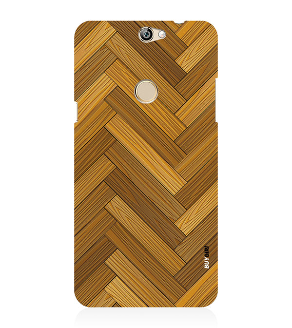 Wood Pattern Back Cover for Coolpad Max