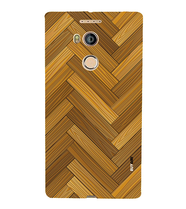 Wood Pattern Back Cover for Gionee Elife E8
