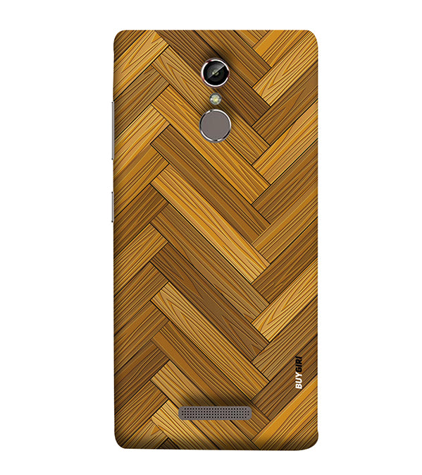 Wood Pattern Back Cover for Gionee Elife S6S