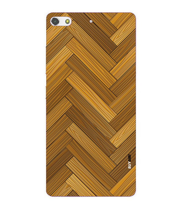 Wood Pattern Back Cover for Gionee Elife S7