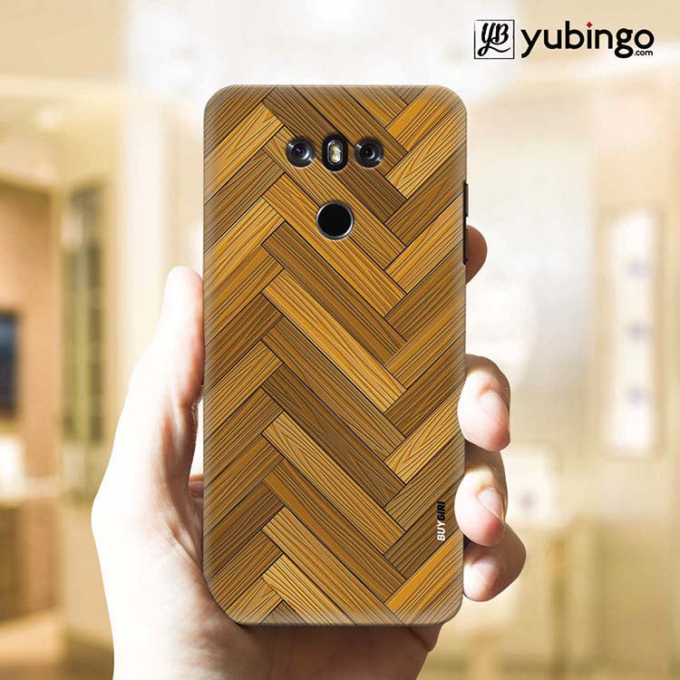 Wood Pattern Back Cover for LG G6