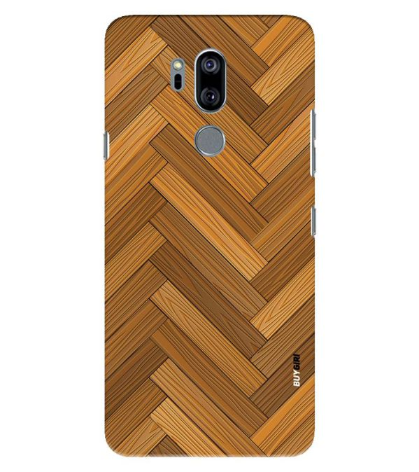 Wood Pattern Back Cover for LG G7