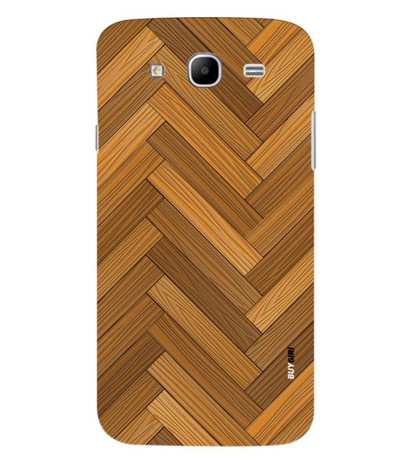 Wood Pattern Back Cover for Samsung Galaxy Mega 5.8 I9150