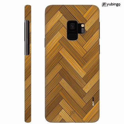 Wood Pattern Back Cover for Samsung Galaxy S9