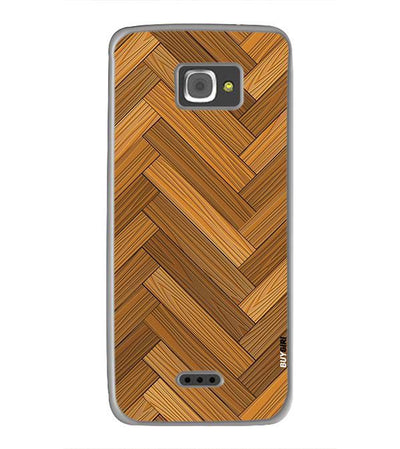 Wood Pattern Back Cover for InFocus M350