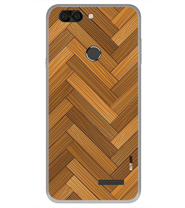 low priced b038b e0107 Wood Pattern Back Cover for Infocus Vision 3