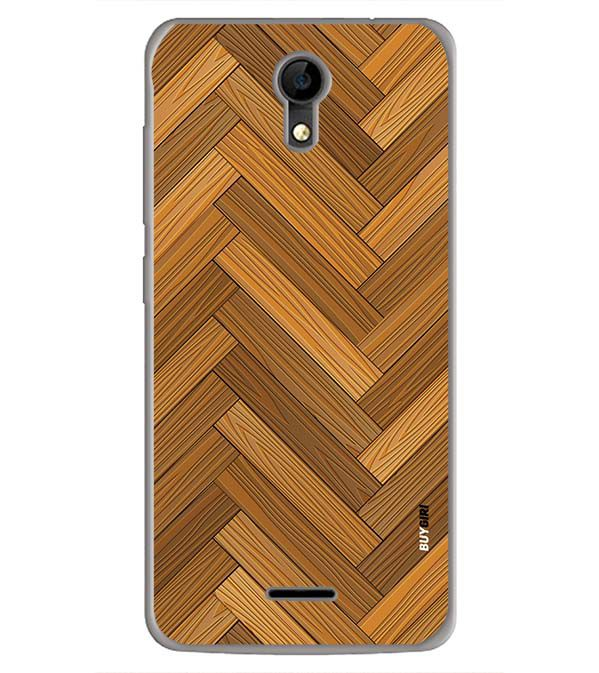 Wood Pattern Back Cover for iVOOMi Me 4
