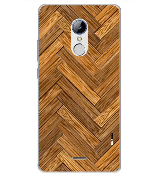 Wood Pattern Back Cover for LYF Water 7