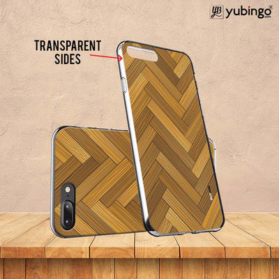 Wood Pattern Back Cover for ITEL PWO Pro-Image3