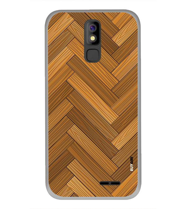Wood Pattern Back Cover for Panasonic P100