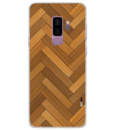 Wood Pattern Back Cover for Samsung Galaxy S9+ (Plus)