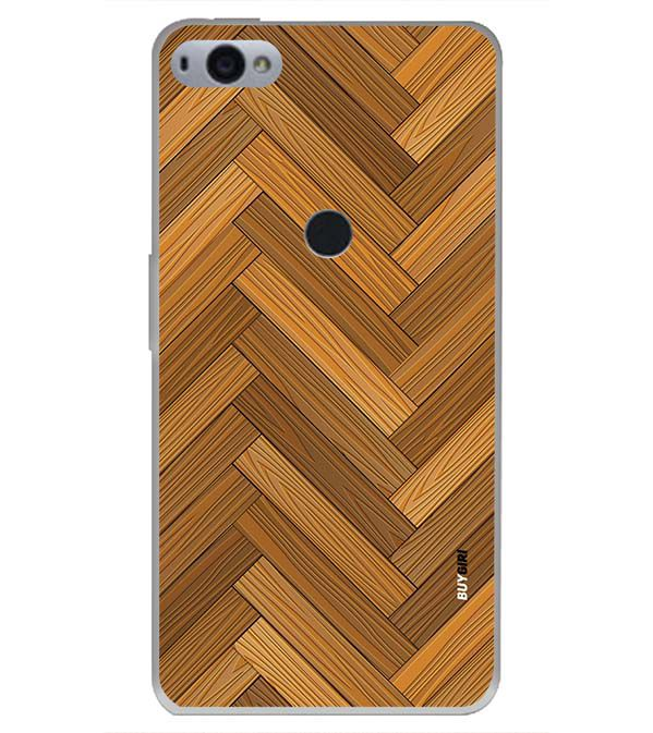 Wood Pattern Back Cover for Smartron SRT Phone