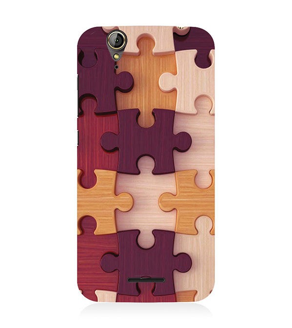 Wooden Jigsaw Back Cover for Acer Liquid Zade 630