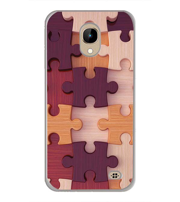 Wooden Jigsaw Back Cover for InFocus A2