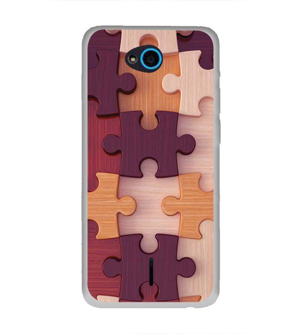 Wooden Jigsaw Back Cover for InFocus Bingo 21