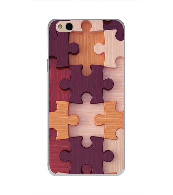 Wooden Jigsaw Back Cover for InFocus Bingo 50 Plus