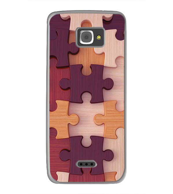 Wooden Jigsaw Back Cover for InFocus M350