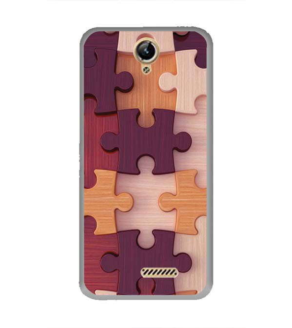 Wooden Jigsaw Back Cover for Lephone W10