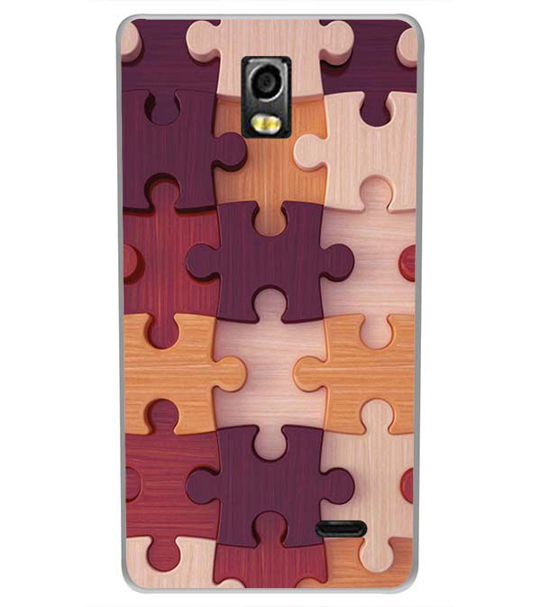 cheap for discount bf8ac eda0e Wooden Jigsaw Back Cover for LYF Water 10