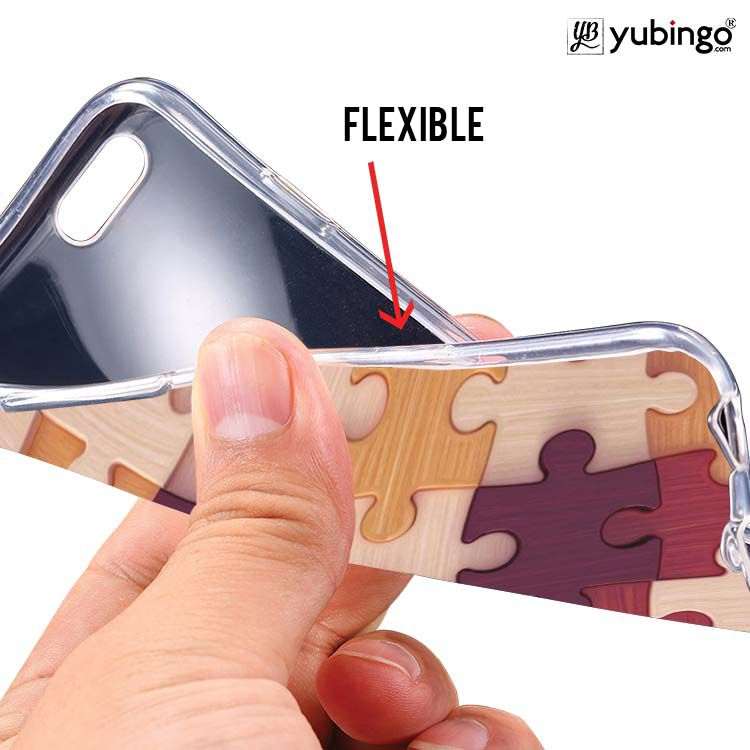 Wooden Jigsaw Back Cover for Intex Intx Trend Lite
