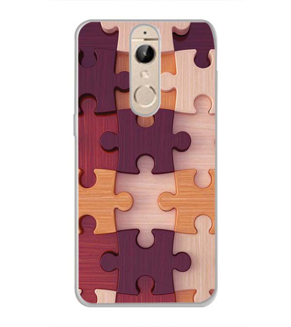 Wooden Jigsaw Back Cover for Panasonic Elugaa I9