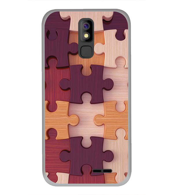 Wooden Jigsaw Back Cover for Panasonic P100