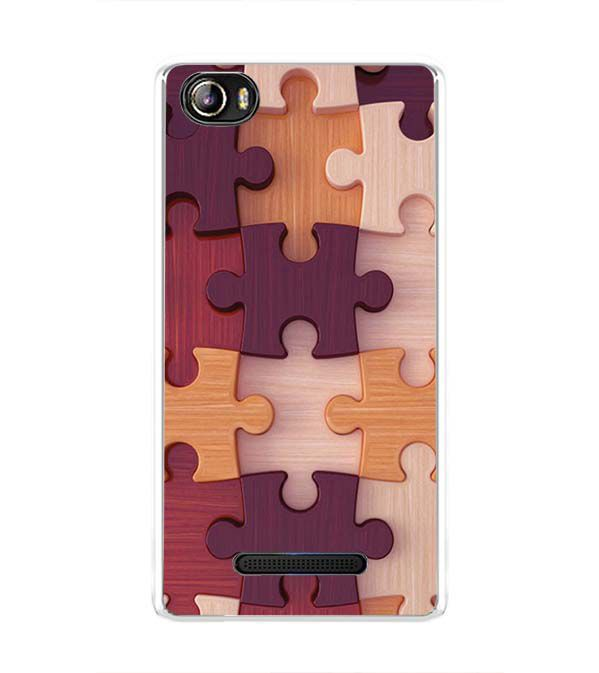 Wooden Jigsaw Back Cover for Sansui Horizon 1