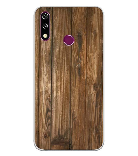 Wooden Pattern Back Cover for LG W10-Image3