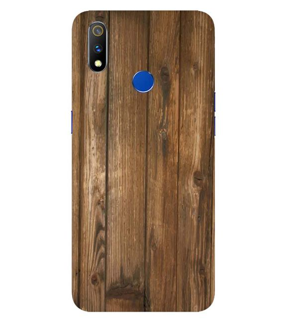 Wooden Pattern Back Cover for Realme 3 Pro