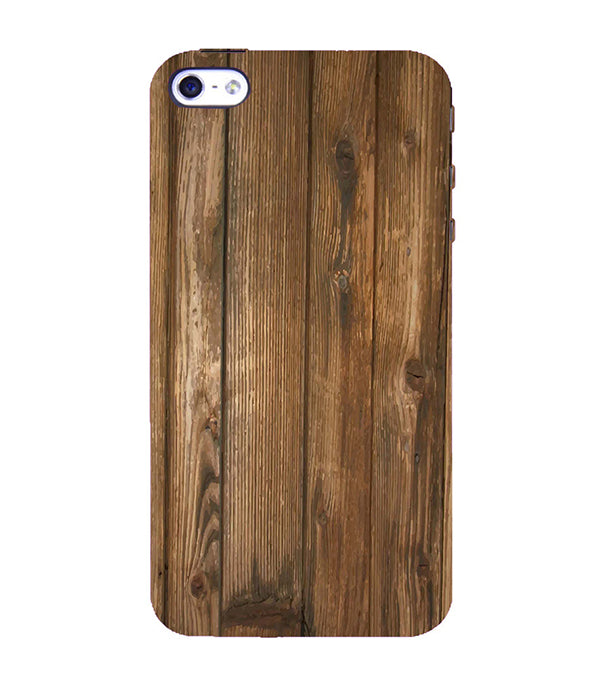 Wooden Pattern Back Cover for Apple iPhone 4 : 4S