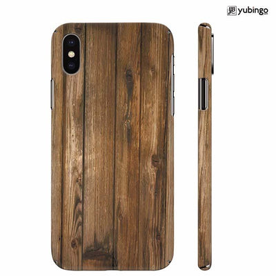 Wooden Pattern Back Cover for Apple iPhone X