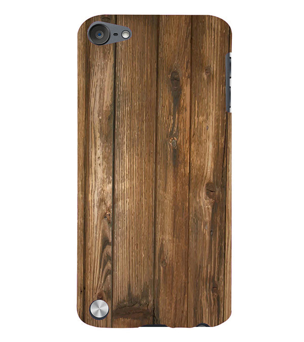Wooden Pattern Back Cover for Apple iPod Touch 5