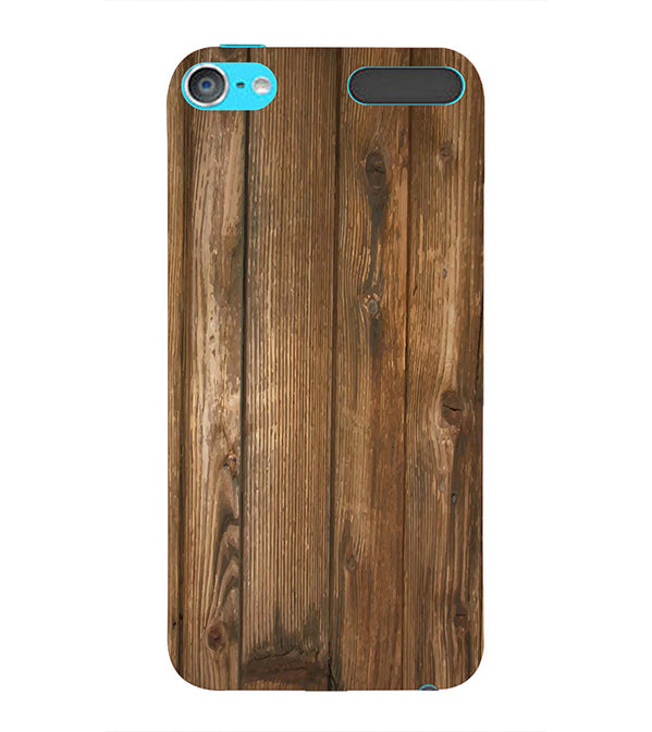 Wooden Pattern Back Cover for Apple iPod Touch 6
